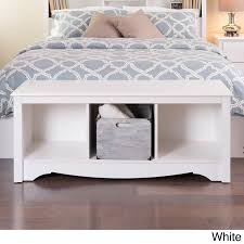 Three Cubby Storage Bench - Free Shipping Today - Overstock.com - 1124695