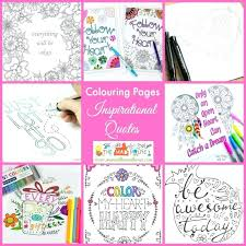 Quote Coloring Pages For Adults Inspirational Quotes Colouring Pages