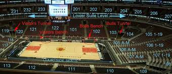 United Center Bulls Seating Chart 25 Hand Picked Section 103 United Center