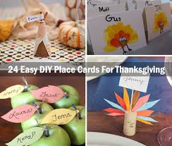 home made thanksgiving cards awesome place cards diy ideas for thanksgiving