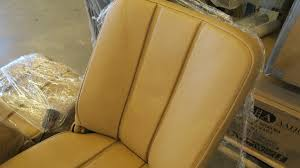 the front seats were covered in vinyl in the 90 s not a bad attempt but now redone in correct shape and colour