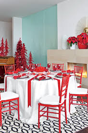 christmas centerpieces for dining room tables. Red And White Peppermint Christmas Dining Room Centerpieces For Tables A