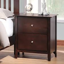 nightstands nice dark wood nightstand stunning bedroom furniture ideas with drawers metropolitan drawer wooden modern brown