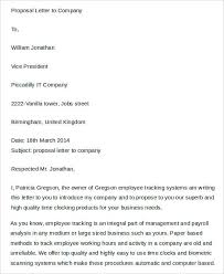 Cleaning Proposal Letter Mesmerizing 48 Proposal Letter Templates Free Premium Templates