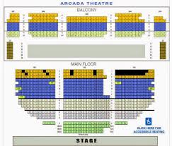 38 Elegant Arcada Theater Seating Chart Picture The Best Chart