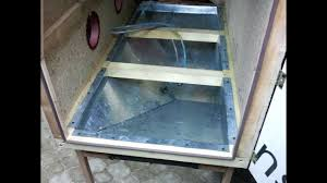 Sand Blaster Cabinet Homemade Blast Cabinet Domowej Roboty Kabina Do Szkiekowania