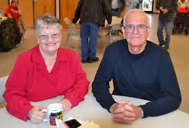 blog archives jo anne mcknight carolyn cain and doug powell enjoy morning coffee