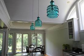beachy lighting. There Were Three Not-so-fun Pendant Lights Hanging Over The Island That Had To Go. They Replaced With Super Awesome Lights. Beachy Lighting C