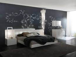 gray paint colors for bedroomsElegant Black Best Paint Colours For Bedrooms With White Bed of