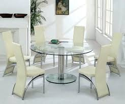 large round glass dining table large round glass dining table and chairs extra large glass dining