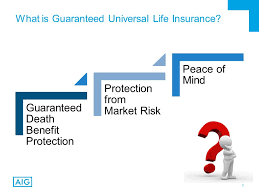 3 what is guaranteed universal life insurance
