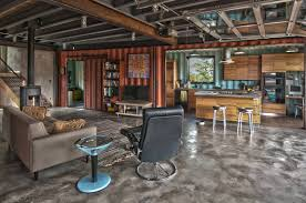 Shipping Container Living Room House