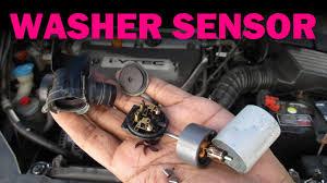 Low Washer Fluid Warning Light Lexus Windshield Washer Sensor Replacement