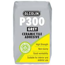 p300 grey tile adhesive