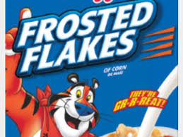 flakes of corn frosted flakes