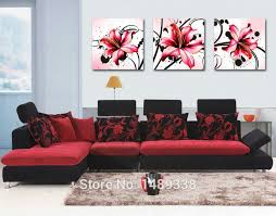 It is a simple piece for wall décor. Modern Abstract Flowers Modern Wall Art Large Living Room 3 Piece Print On Canvas Artwork Painted With Framet 591 3panel 5486 3 Piece Oil Painting