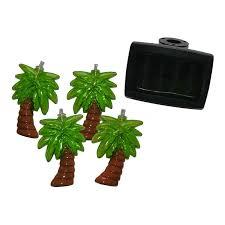 bright garden 10 solar palm tree string lights
