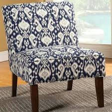blue and white chair. Blue Pattern Accent Chair Design Of And White Coaster Navy Fabric . T