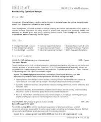 Production Resume Sample Production Production Planning And Control