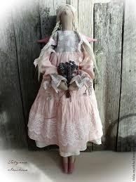 Купить Простушка из Прованса (Ангел в стиле Тильда) - бледно ...