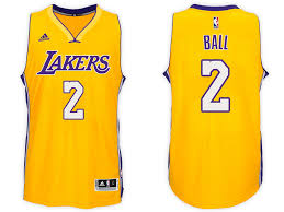 ball lakers jersey. los angeles lakers lonzo ball nike gold authentic association jersey. click image to enlarge jersey n