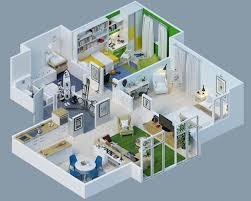 25 more 2 bedroom 3d floor plans house plan 2 bedroom floor plans modern 2 bedroom