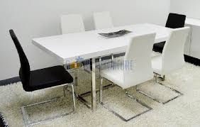 modern white dining table. amazing decoration modern white dining table splendid design lacquer contemporary d