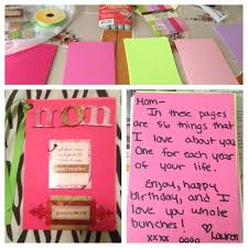 diy birthday gift ideas for mom journalingsagecom saveenlarge