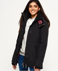 Superdry Technical Quilted SD-Wind Parka Jacket - Women's Jackets ... & Superdry Technical Quilted SD-Wind Parka Jacket Black Adamdwight.com