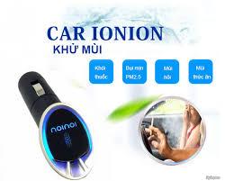 Carionion máy hút bụi khử mùi chuyên nghiệp ô tô chính hãng Nhật Bản