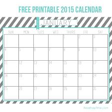 Download Printable Calendar 2015 Free New Free Printable Calendars Download Print
