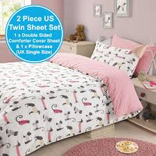 lovely real madrid bedroom accessories 4 cat and dog duvet cover set kids girls
