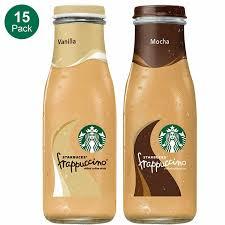 Starbucks Frappuccino 9 5 Fl Oz 8 Or 15 Ct 5 Flavors