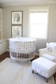 french nursery furniture. plain nursery gray round crib  french nursery belmont design group inside nursery furniture