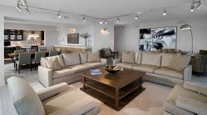 track lighting on sloped ceiling. d track lighting with contemporary lounge chairs living room and modern retreat on sloped ceiling