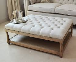 Collection in Tufted Ottoman Coffee Table with Best 25 Upholstered
