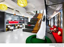 office workspace design ideas. creative office design by m moser associates interior ideas house workspace