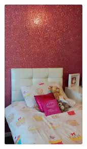 50 Meter Per Rol Glitter Behang Stof Grade 3 Baby Roze Glitter Stof