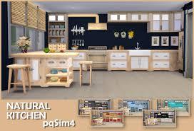 sims 4 kitchen design. natural kitchen by pqsim4 sims 4 kitchen design w