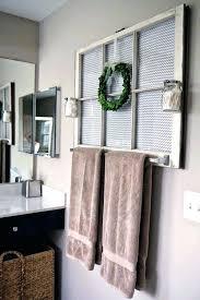 Creative Towel Rack Ideas 1 Creative Towel Hanging Ideas awstoresco