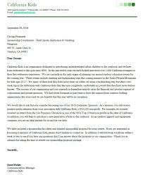 Sponsorship Proposal Cover Letter Template