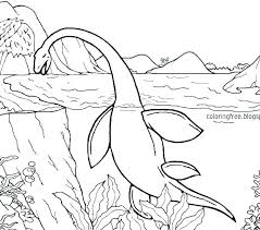 Astounding Design Sea Monster Coloring Pages Sheets Monsters Page