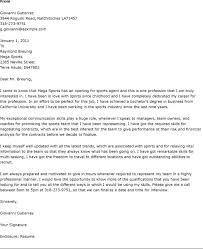 Sports Management Cover Letters Cover Letter For Sports Magdalene Project Org