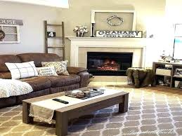 living brown leather couch room beautiful decor sofa decorating ideas silver c