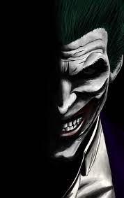 Download 840x1336 wallpaper joker, dark ...