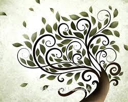 whimsical wall art summer tree print whimsical wall art watercolor tree like this item whimsical metal on whimsical metal fish wall art with whimsical wall art summer tree print whimsical wall art watercolor