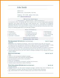 10 Sample Resume In Word Azzurra Castle Grenada