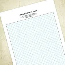 Graph Papers Standard 1 4 Single Sheets 8 2 X Custom Printed