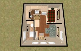 3d top view of the 196 sq ft 3 bed terbox micro homes under arresting 200