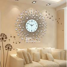 large wall clock modern decorative cool